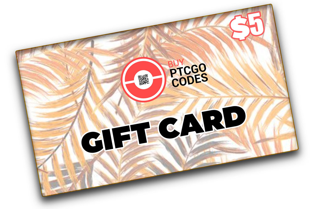 Gift Card 5$ - Buy PTCGO Codes
