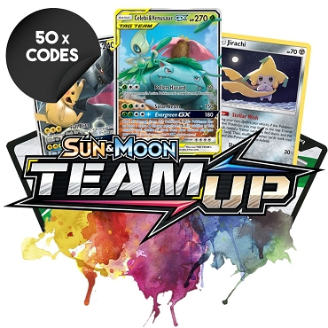 Bulk Team Up - 50x Pokemon TCG Codes