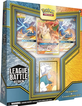 Reshiram & Charizard-GX League Battle Deck - Pokemon TCGO Deck Codes