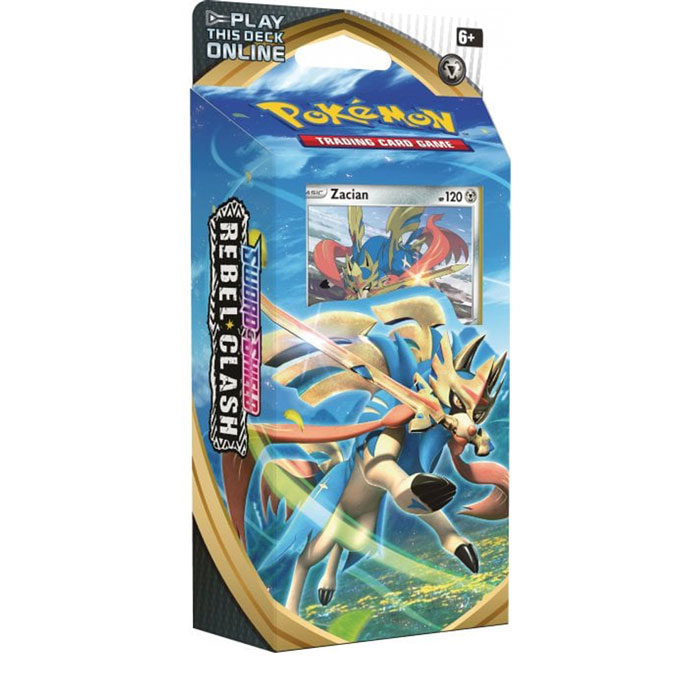 Zacian Theme Deck - Pokemon TCGO Deck Codes